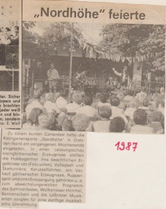1987 Kleingartensparte Nordhoehe